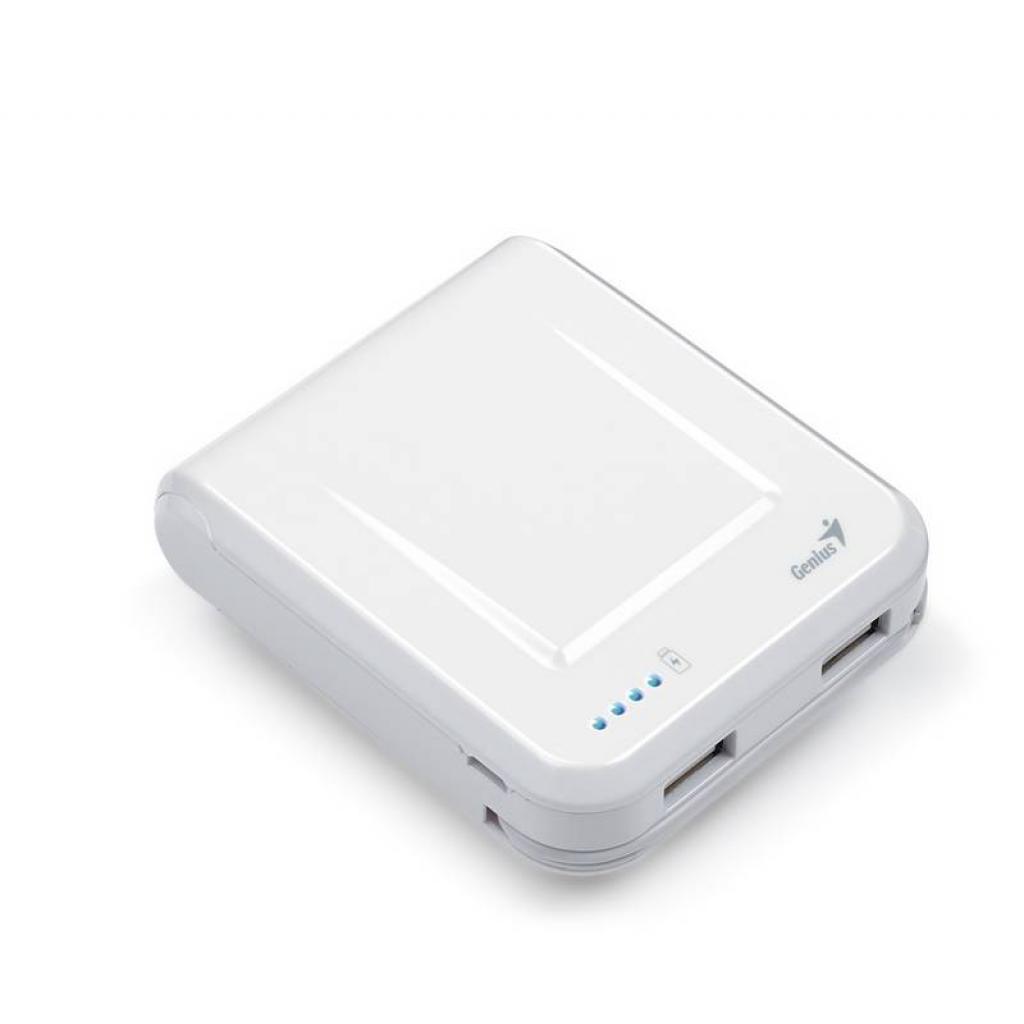 Батарея универсальная Genius ECO-U700 7800 mAh White (39800002102) изображение 4
