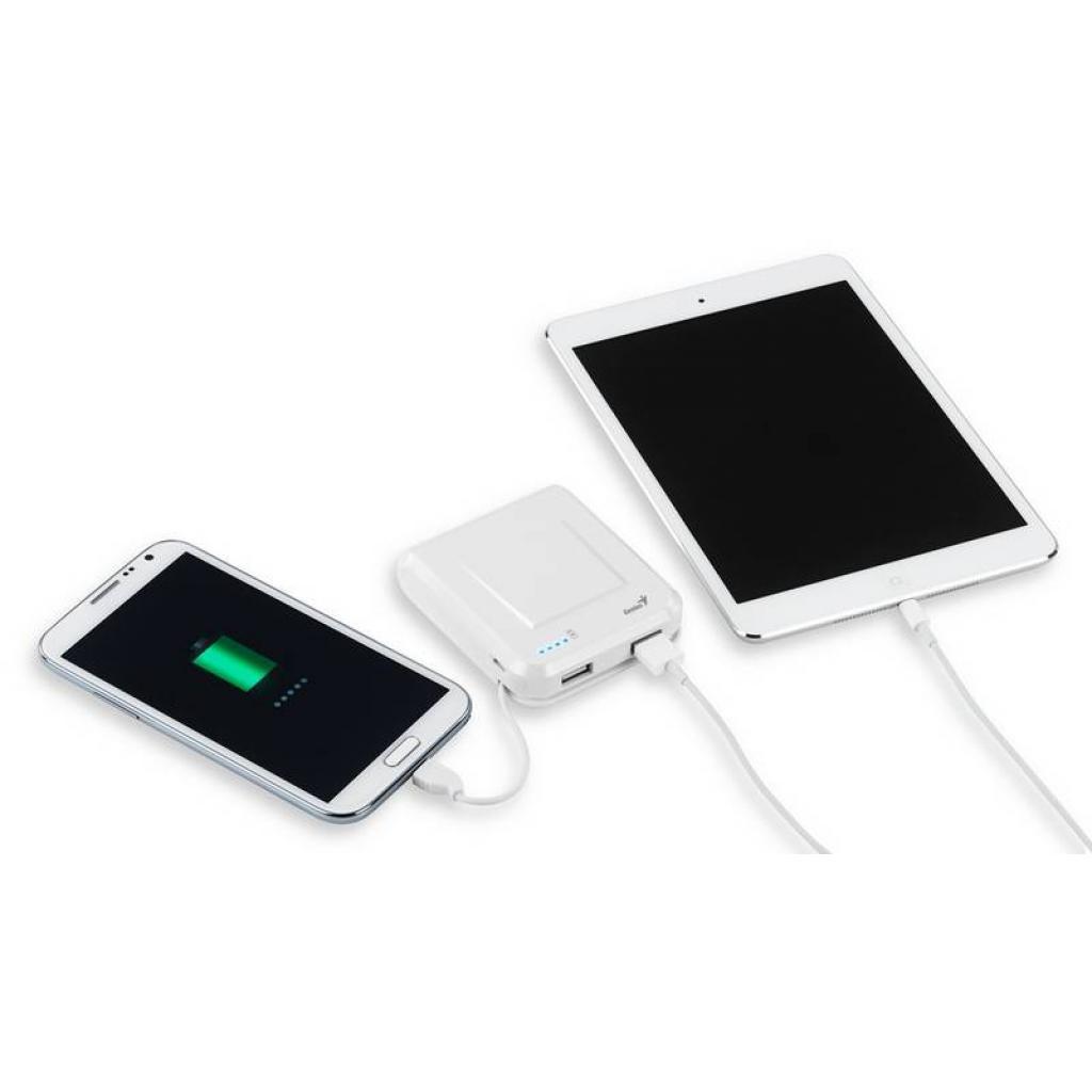 Батарея универсальная Genius ECO-U700 7800 mAh White (39800002102) изображение 6