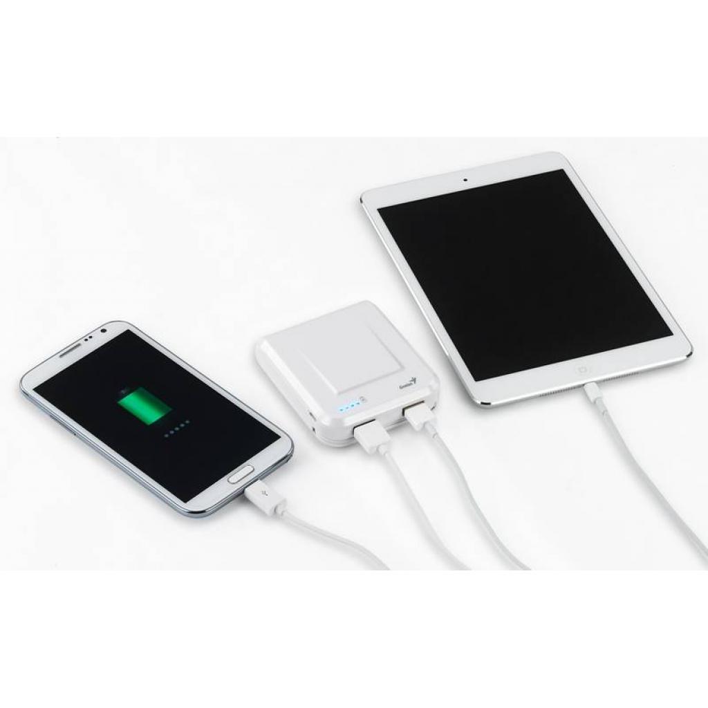 Батарея универсальная Genius ECO-U700 7800 mAh White (39800002102) изображение 7