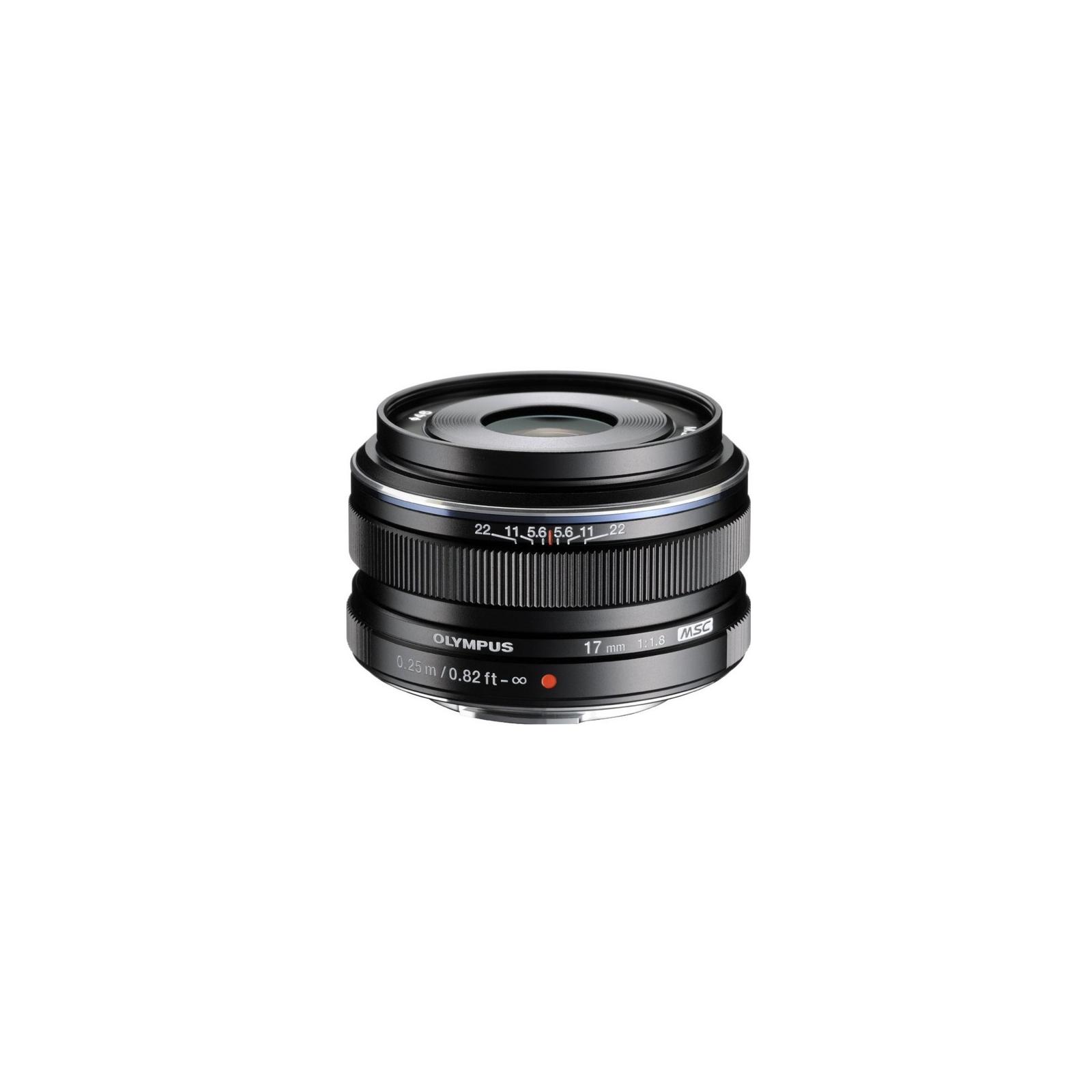 Объектив OLYMPUS EW-M1718 17mm 1:1.8 Black (V311050BE000)