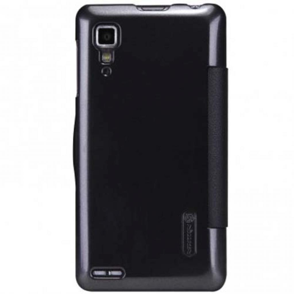 Чехол для моб. телефона NILLKIN для Lenovo P780 /Fresh/ Leather/Black (6100776) изображение 2