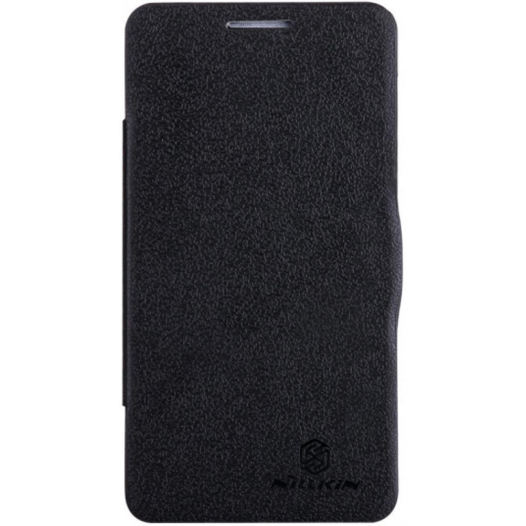 Чехол для моб. телефона NILLKIN для Lenovo P780 /Fresh/ Leather/Black (6100776)