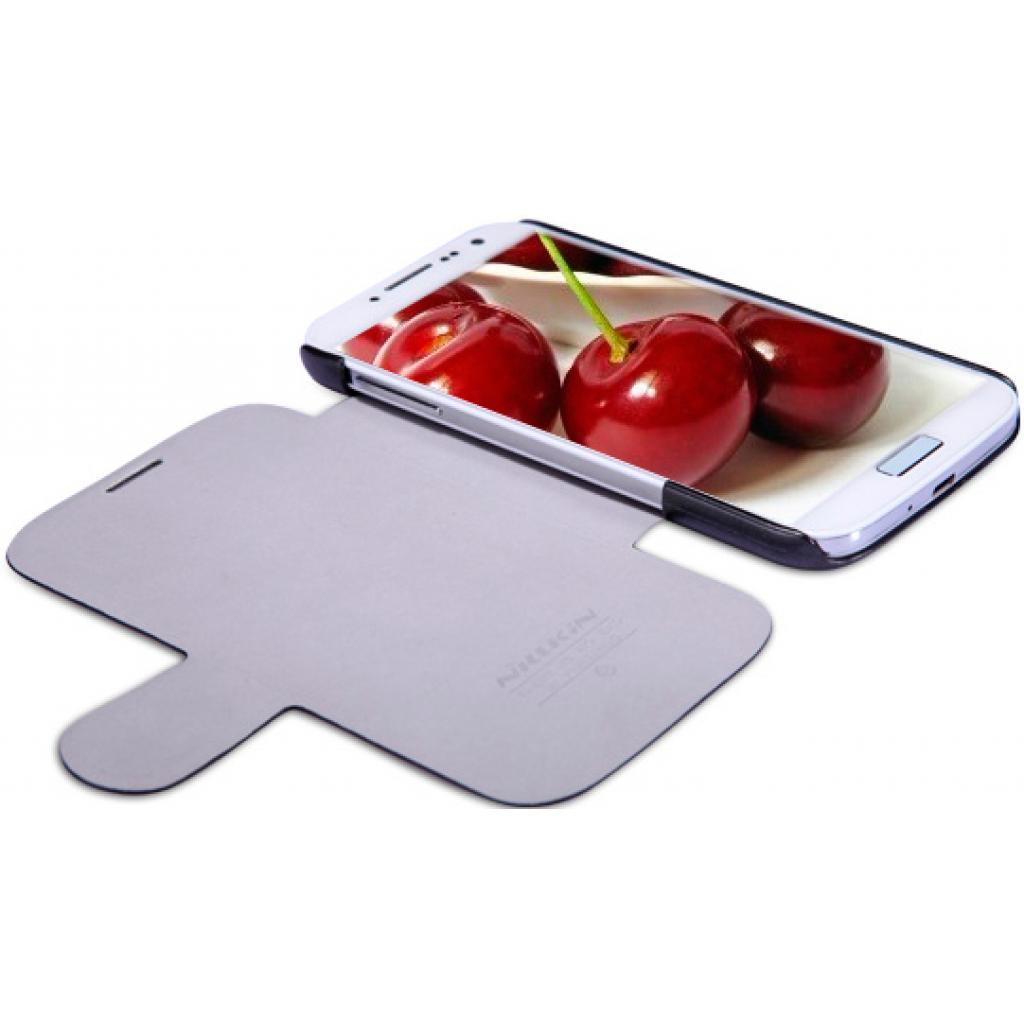 Чехол для моб. телефона NILLKIN для Samsung I9500 /Fresh/ Leather/Black (6065850) изображение 2