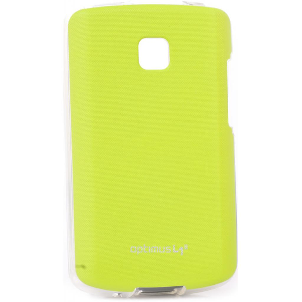 Чехол для моб. телефона VOIA для LG E410 Optimus L1II /Jell skin/Lime (6093513)