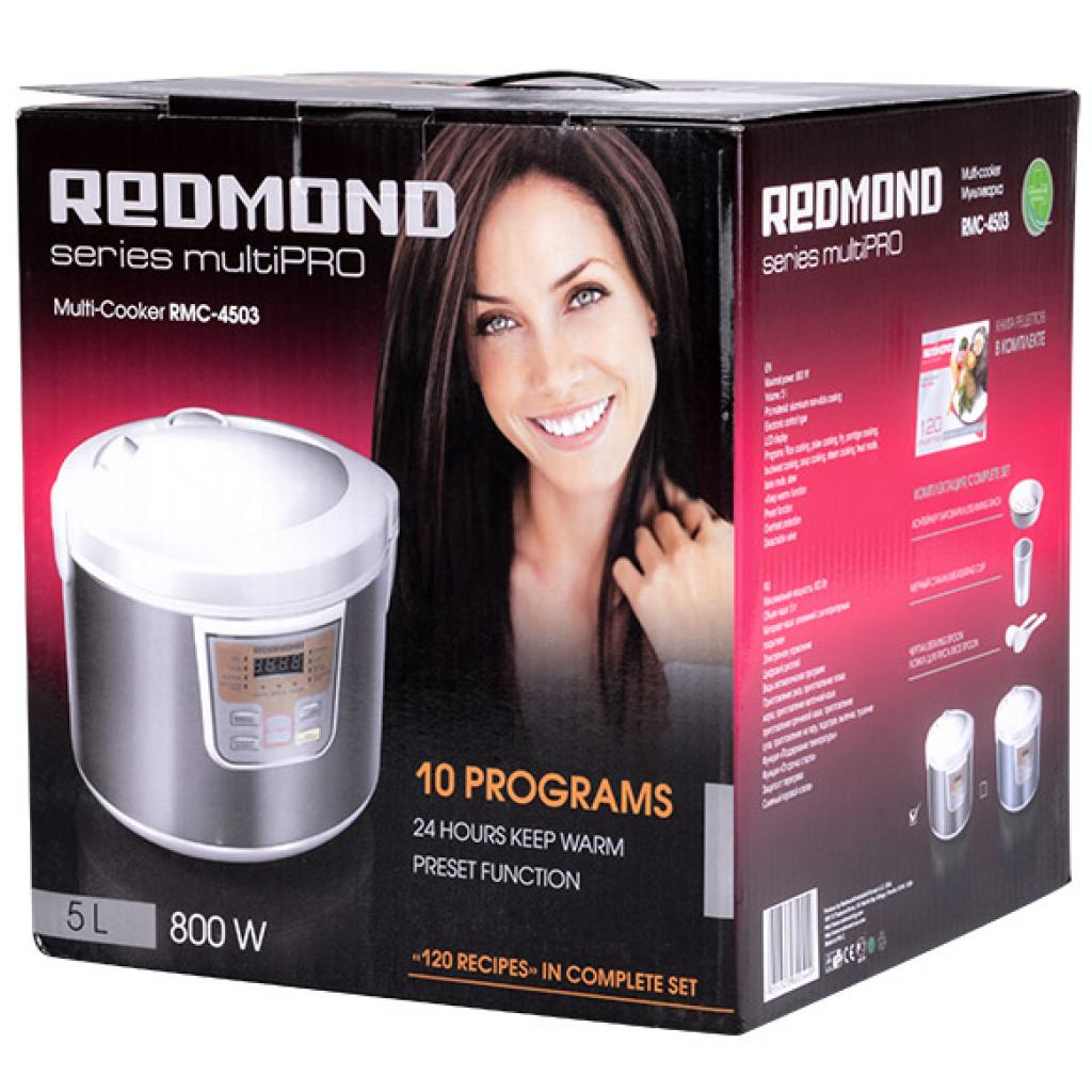 Мультиварка REDMOND RMC-4503 изображение 9