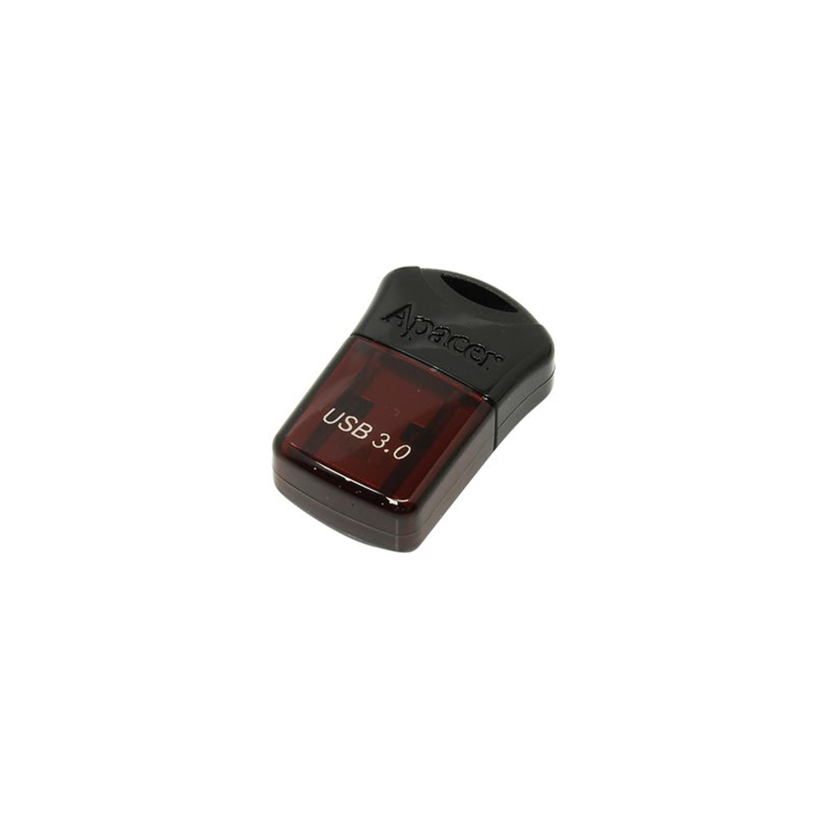 USB флеш накопитель Apacer 8GB AH157 Red USB 3.0 (AP8GAH157R-1) изображение 4
