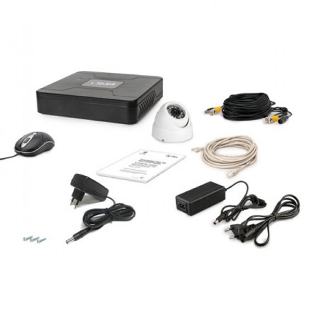 Комплект видеонаблюдения Tecsar AHD 1OUT DOME (6634)