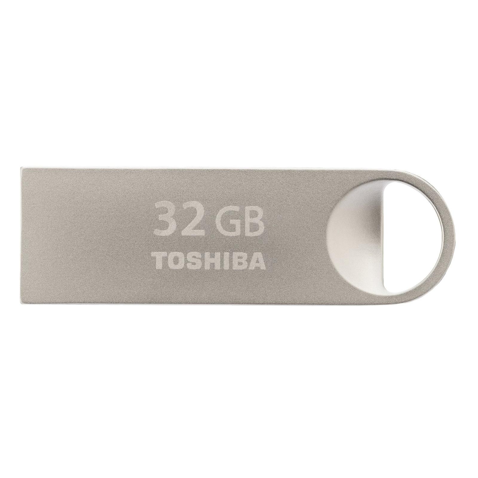 USB флеш накопитель TOSHIBA 32GB Owari Metal USB 2.0 (THN-U401S0320E4)