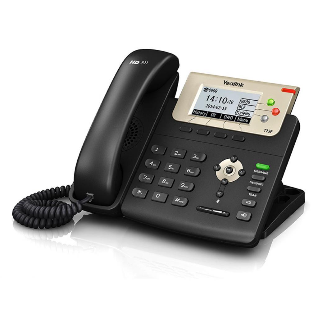 IP телефон Yealink SIP-T23P изображение 2