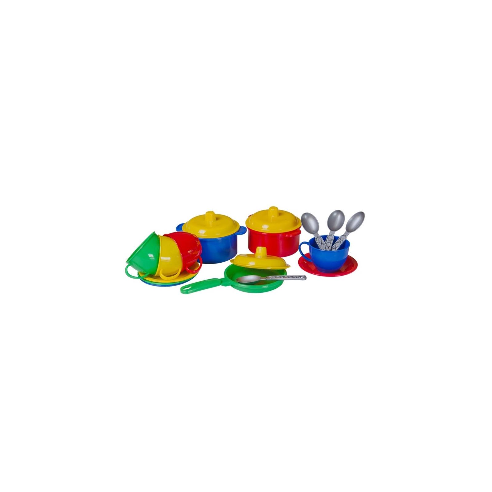Игрушка для песка Технок Набор посуды в сетке (2209)
