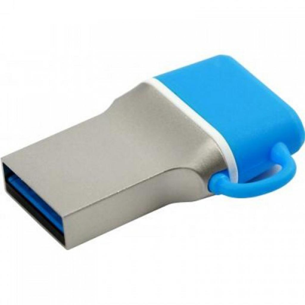 USB флеш накопитель GOODRAM 64GB DualDrive C Blue USB 3.0 (PD64GH3GRDDCBR10) изображение 5