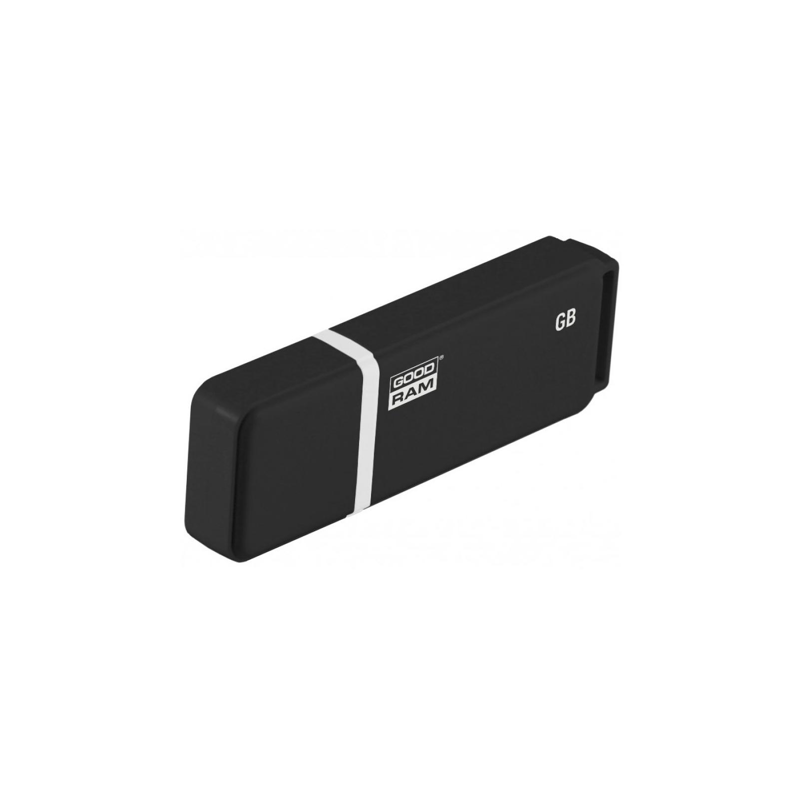 USB флеш накопитель Goodram 8GB UMO2 Green USB 2.0 (UMO2-0080G0R11) изображение 2