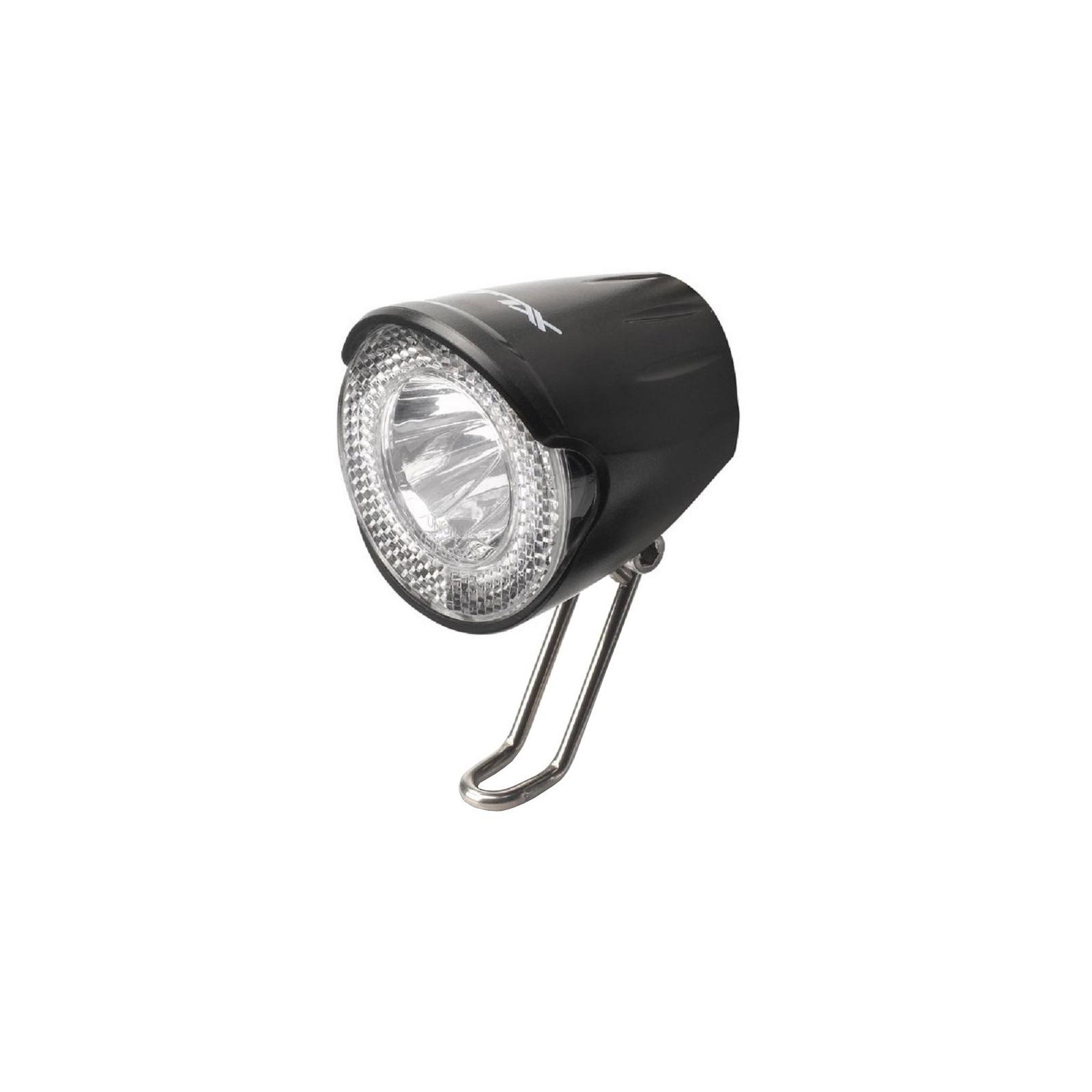 Передняя велофара XLC LED 20Lux, черный (2500220500)