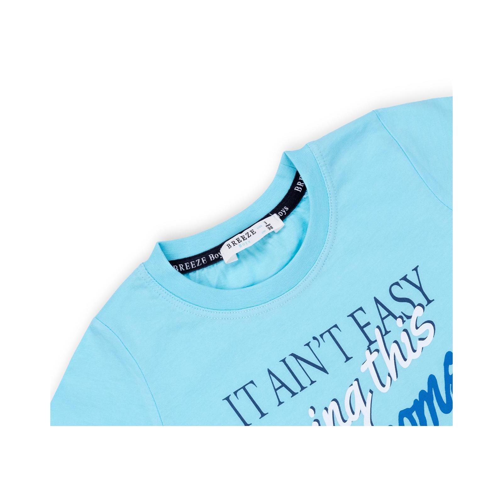 """Набор детской одежды Breeze """"AWESOME"""" (11061-110B-blue) изображение 7"""