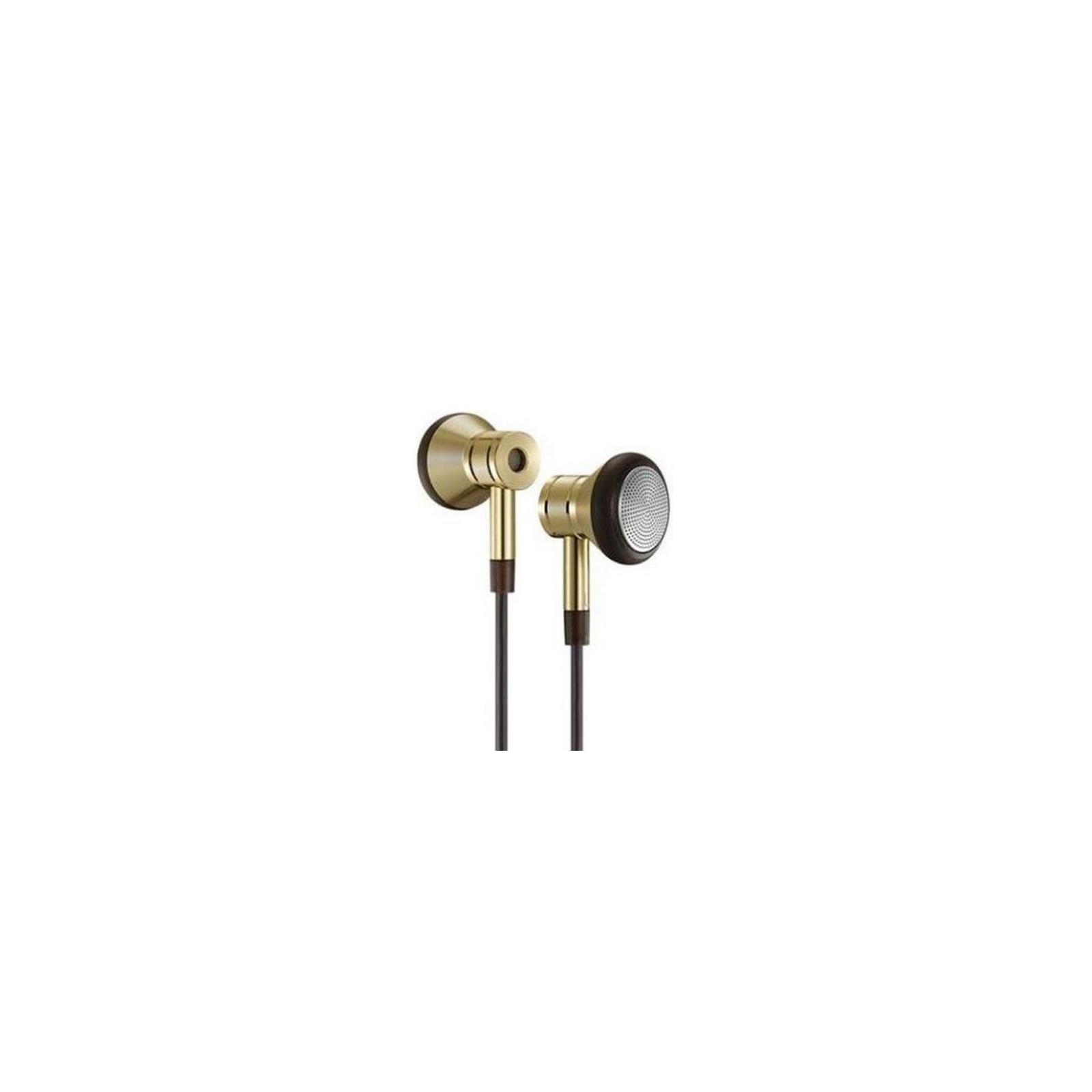 Наушники 1MORE EO320 Piston Earphone Mic Gold (EO320-GOLD) изображение 2