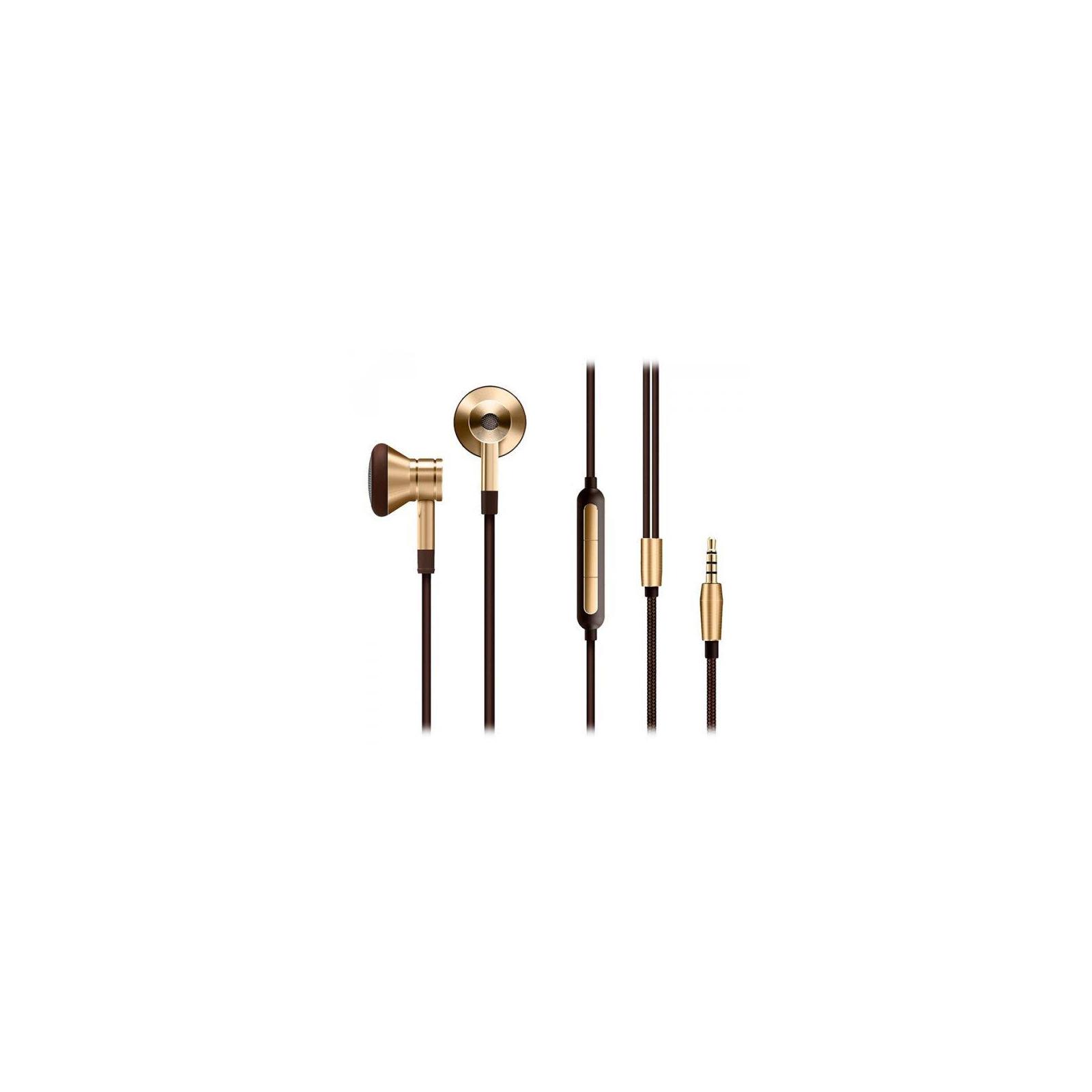 Наушники 1MORE EO320 Piston Earphone Mic Gold (EO320-GOLD)
