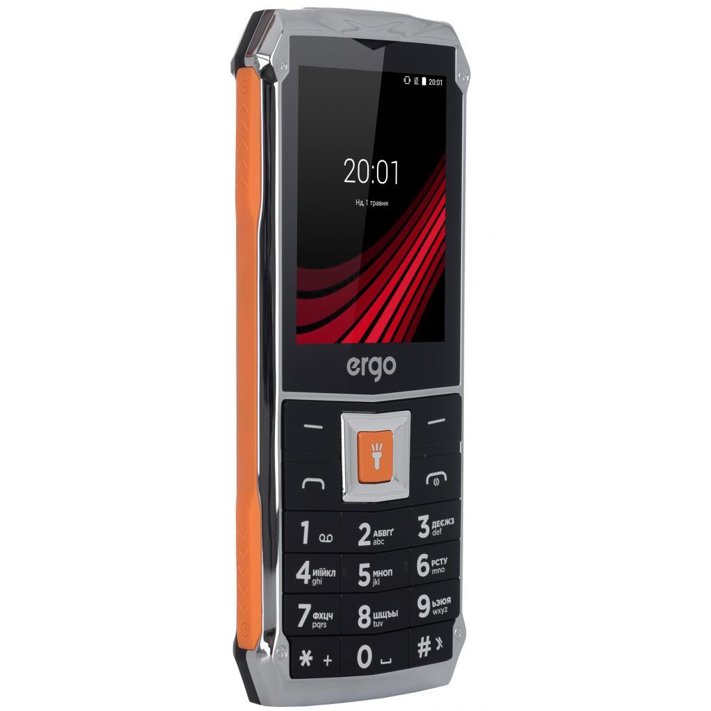 Мобильный телефон Ergo F246 Shield Black Orange изображение 6