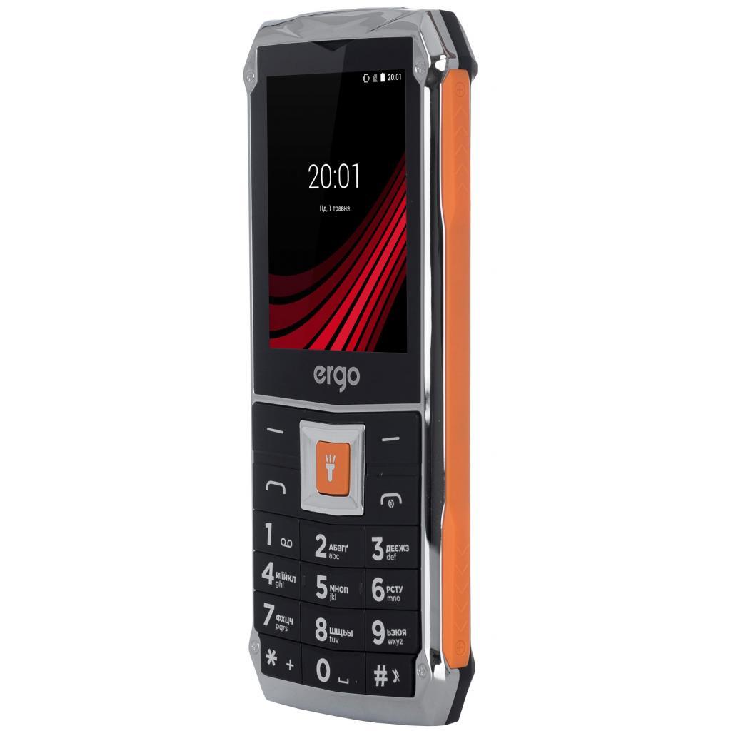 Мобильный телефон Ergo F246 Shield Black Orange изображение 7