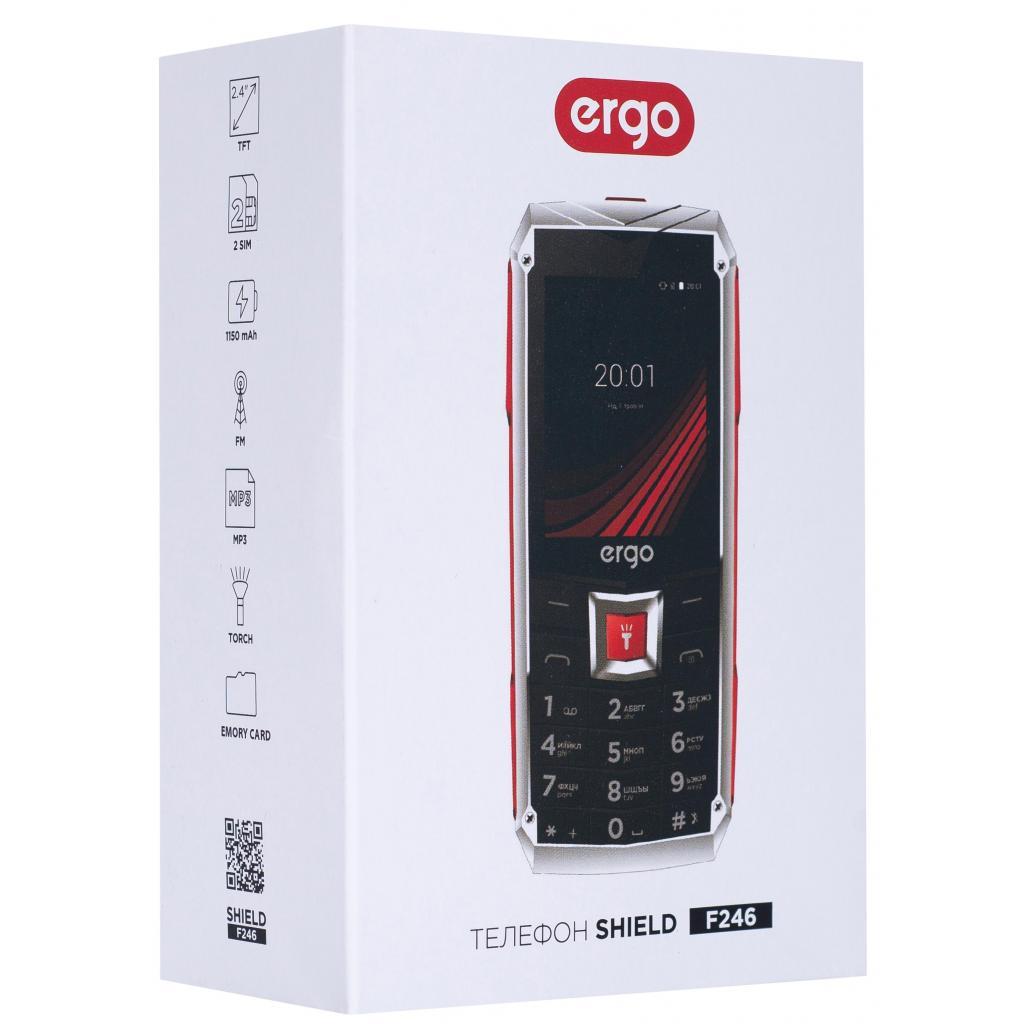 Мобильный телефон Ergo F246 Shield Black Orange изображение 8