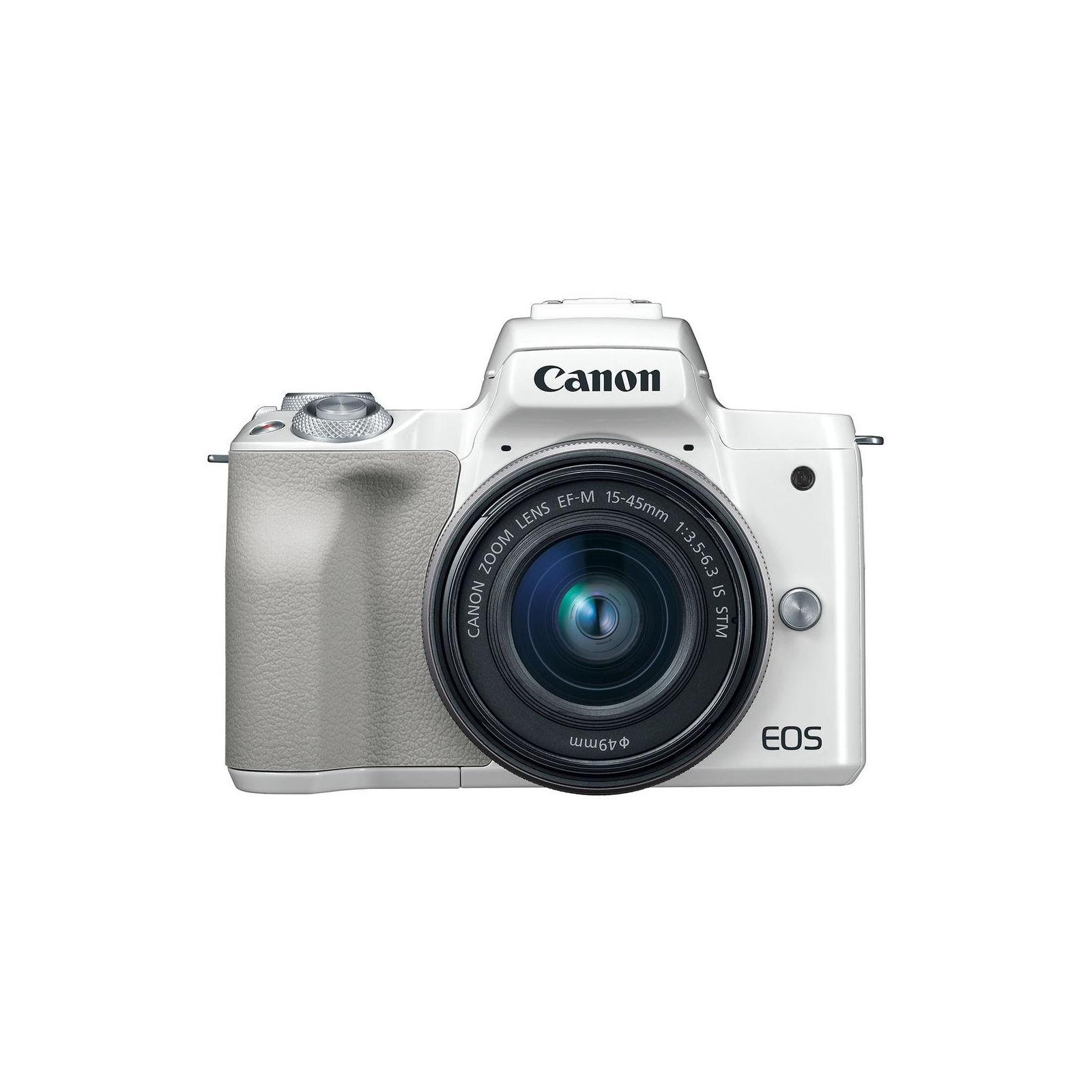 Цифровой фотоаппарат Canon EOS M50 15-45 IS STM Kit White (2681C057) изображение 2
