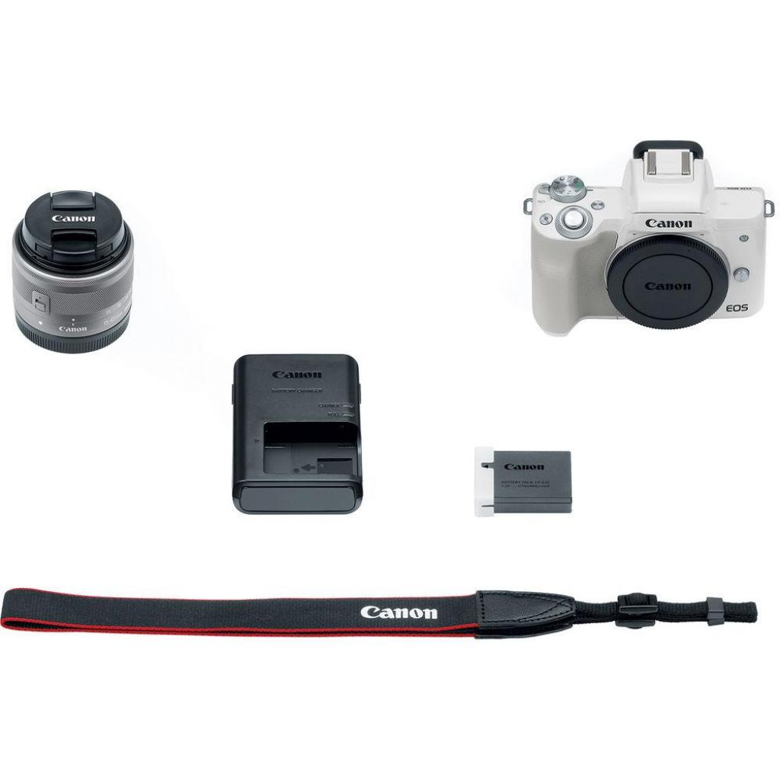 Цифровой фотоаппарат Canon EOS M50 15-45 IS STM Kit White (2681C057) изображение 9