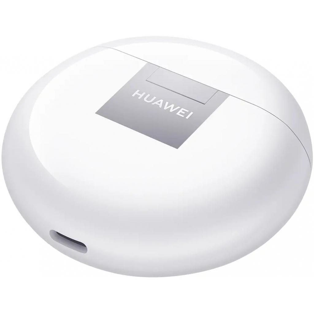 Навушники Huawei Freebuds 4 Ceramic White (55034498) зображення 12