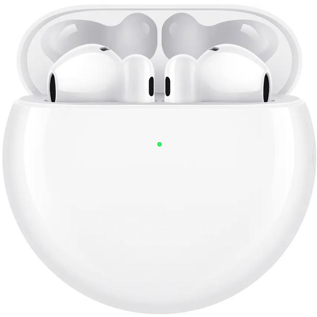 Навушники Huawei Freebuds 4 Ceramic White (55034498) зображення 2