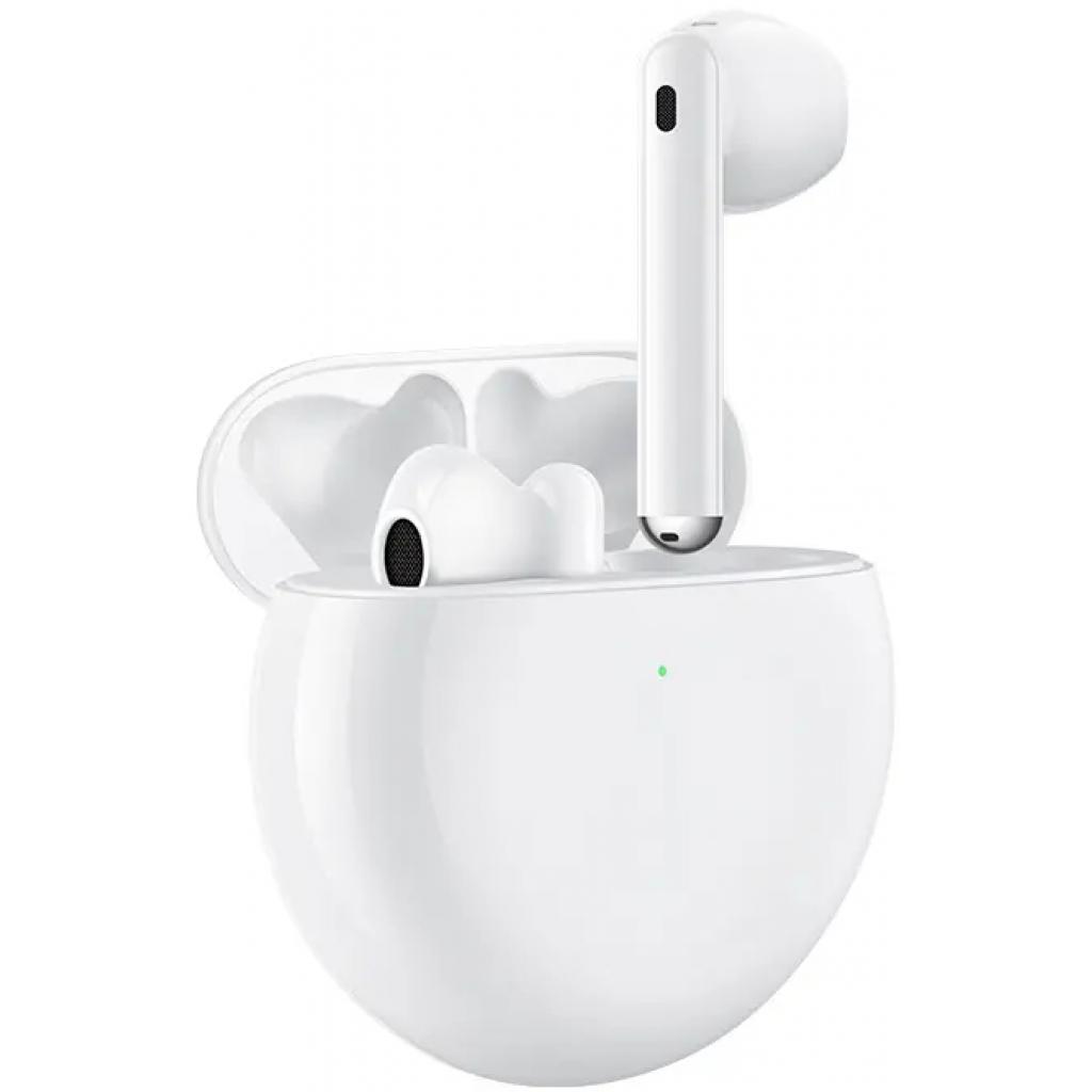Навушники Huawei Freebuds 4 Ceramic White (55034498) зображення 3