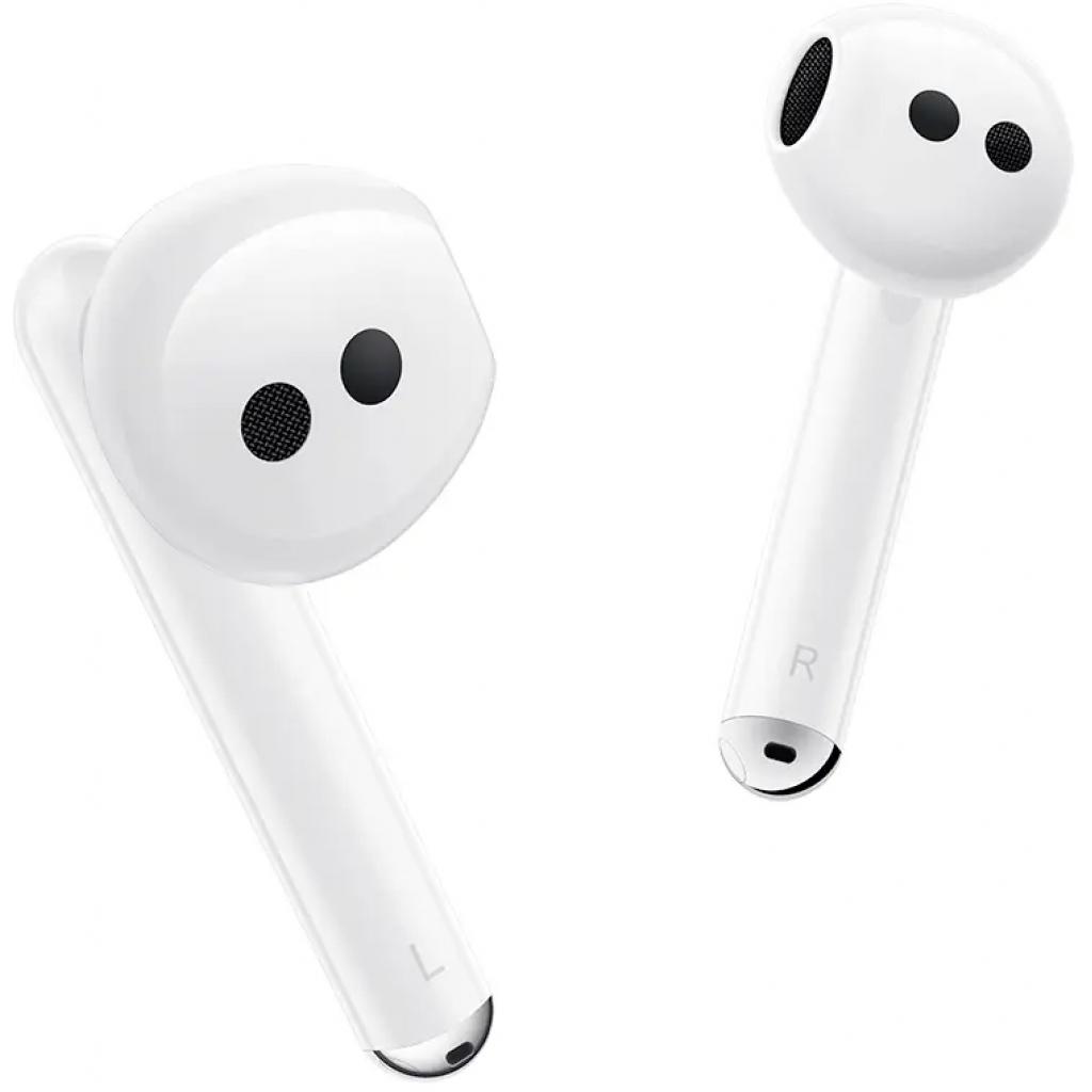 Навушники Huawei Freebuds 4 Ceramic White (55034498) зображення 8