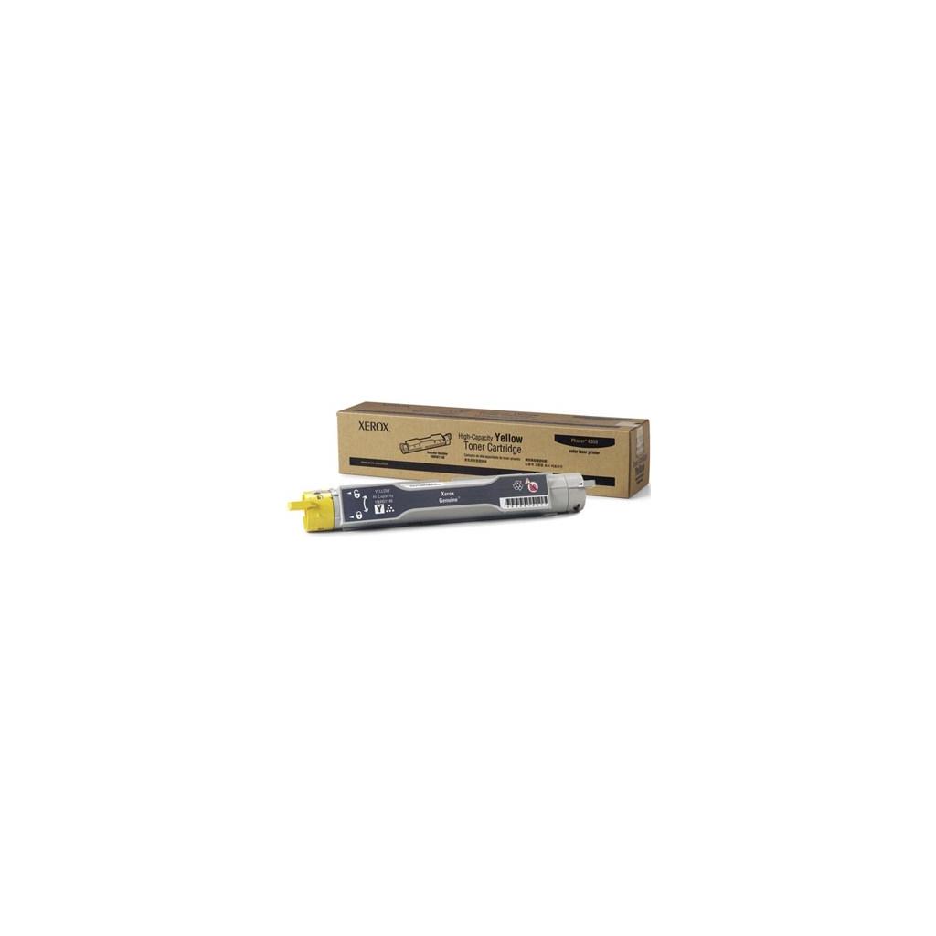 Тонер-картридж XEROX PH6350 Yellow (Max) (106R01146)