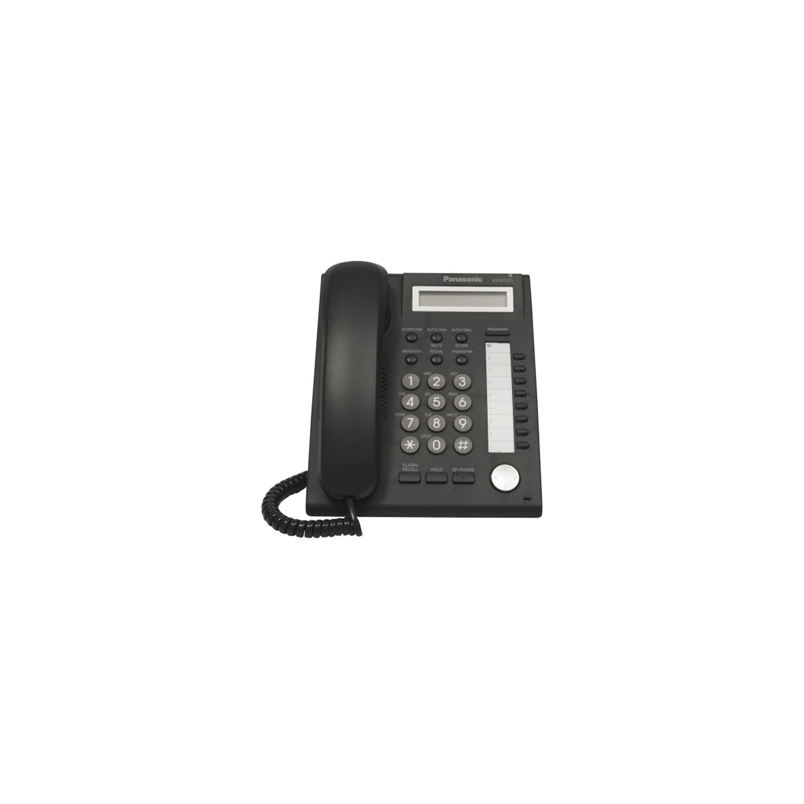 Телефон PANASONIC KX-DT321UA-B изображение 2