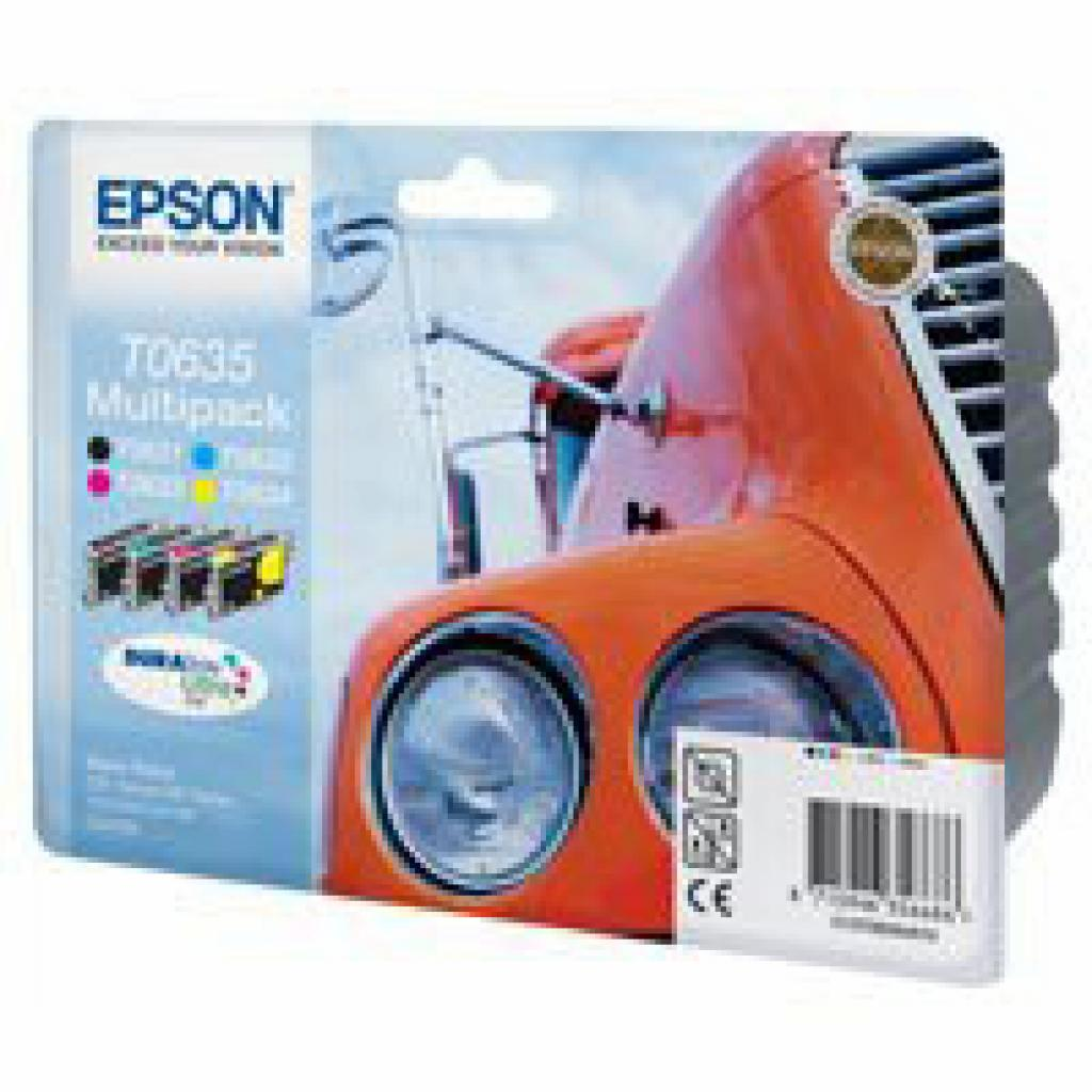 Картридж EPSON St C67/87 CX3700/4100/4700 Bundle (C13T06354A10)