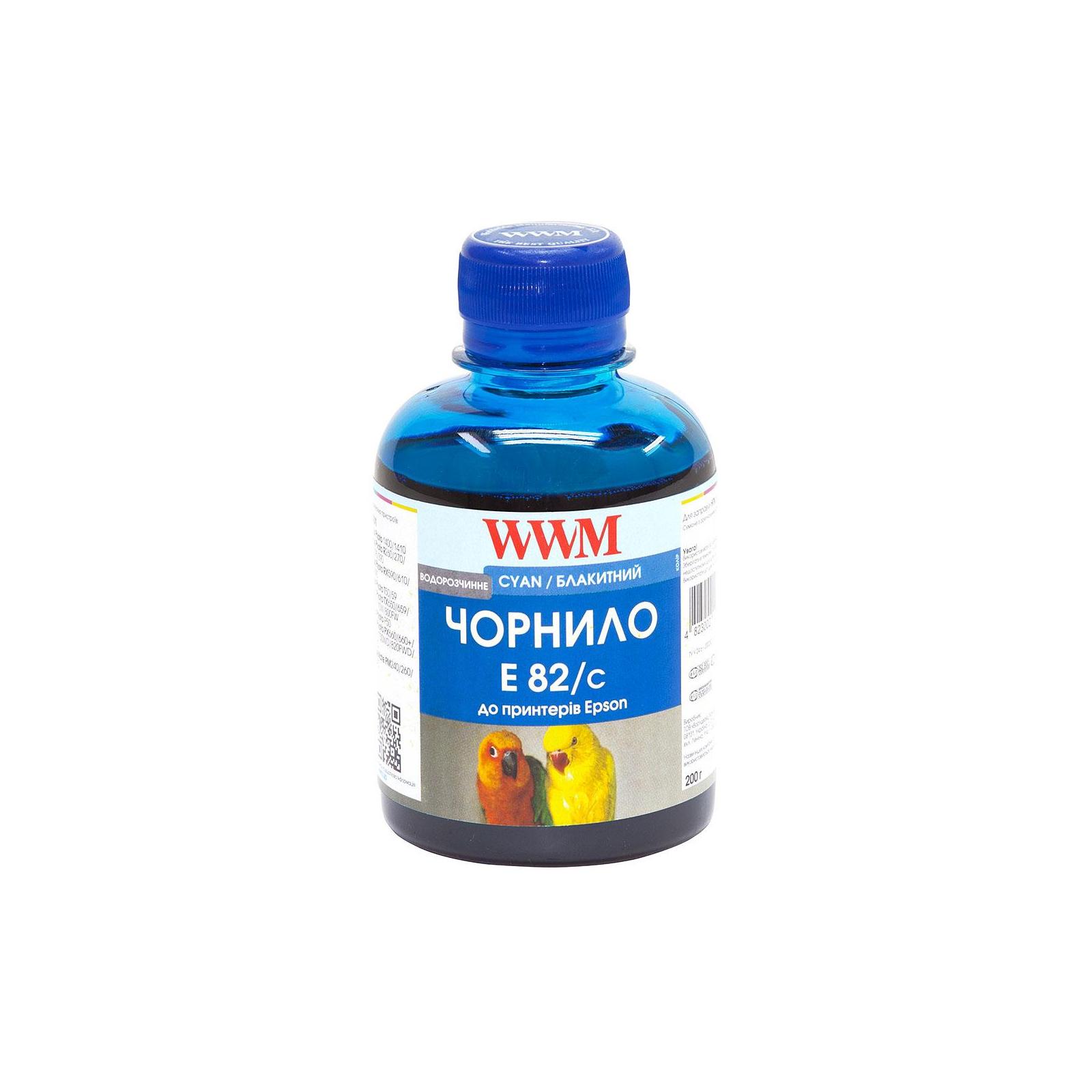 Чернила WWM EPSON StPhoto R270/290, Cyan (E82/C)