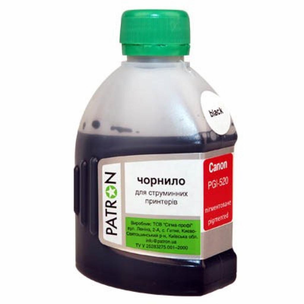 Чернила PATRON CANON PGI-5/425/520 PG510/512 BLACK (I-PN-CPGI520-180-B)