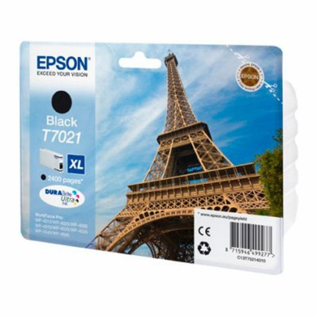 Картридж EPSON WP 4000/ 4500 XL black 2.4k (C13T70214010)