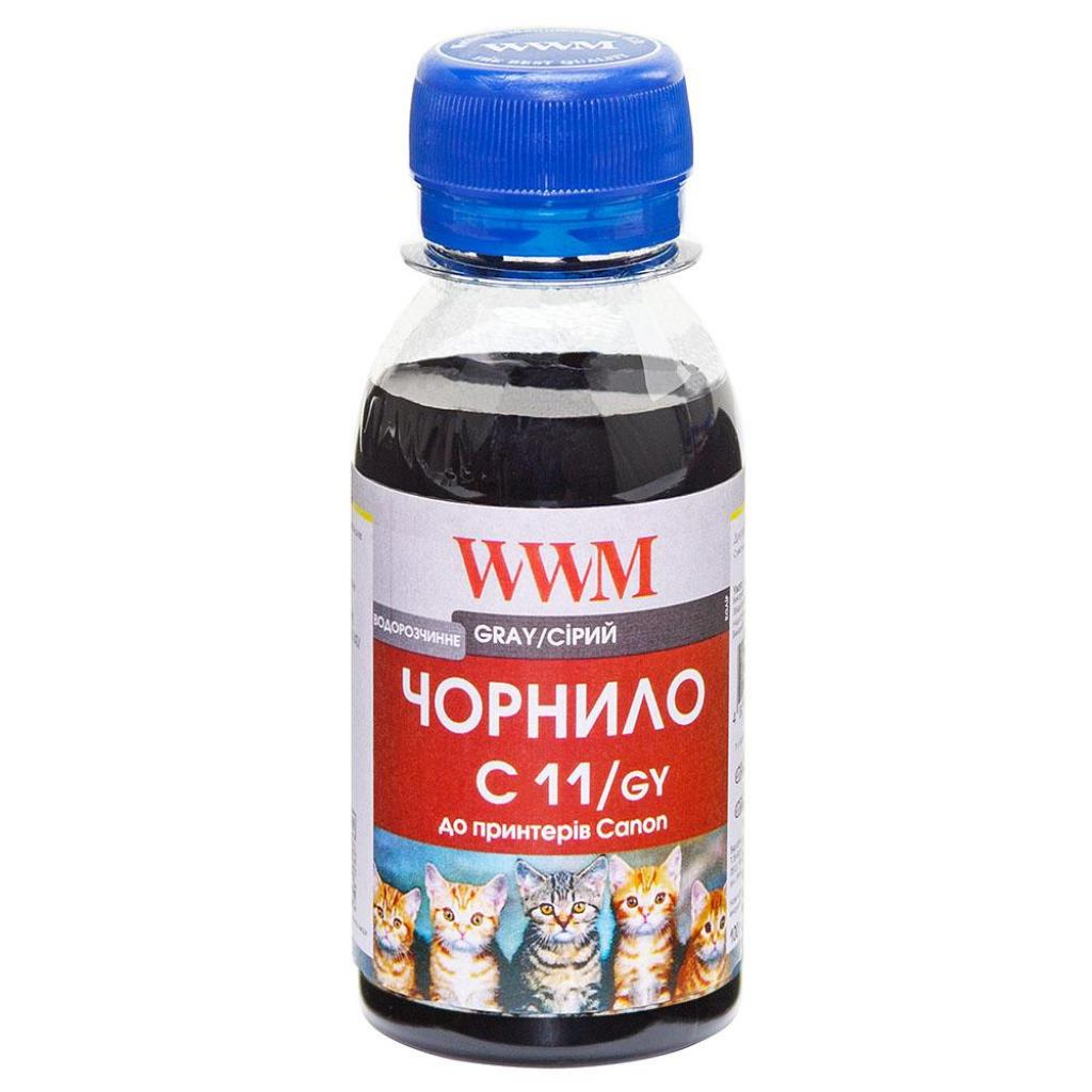 Чернила WWM CANON CLI426G/521 Grey (C11/GY-2)