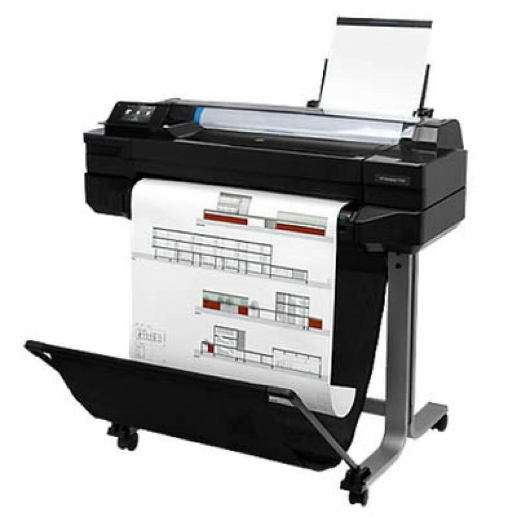 Плоттер HP DesignJet T520, 24'' c WiFi (CQ890A)