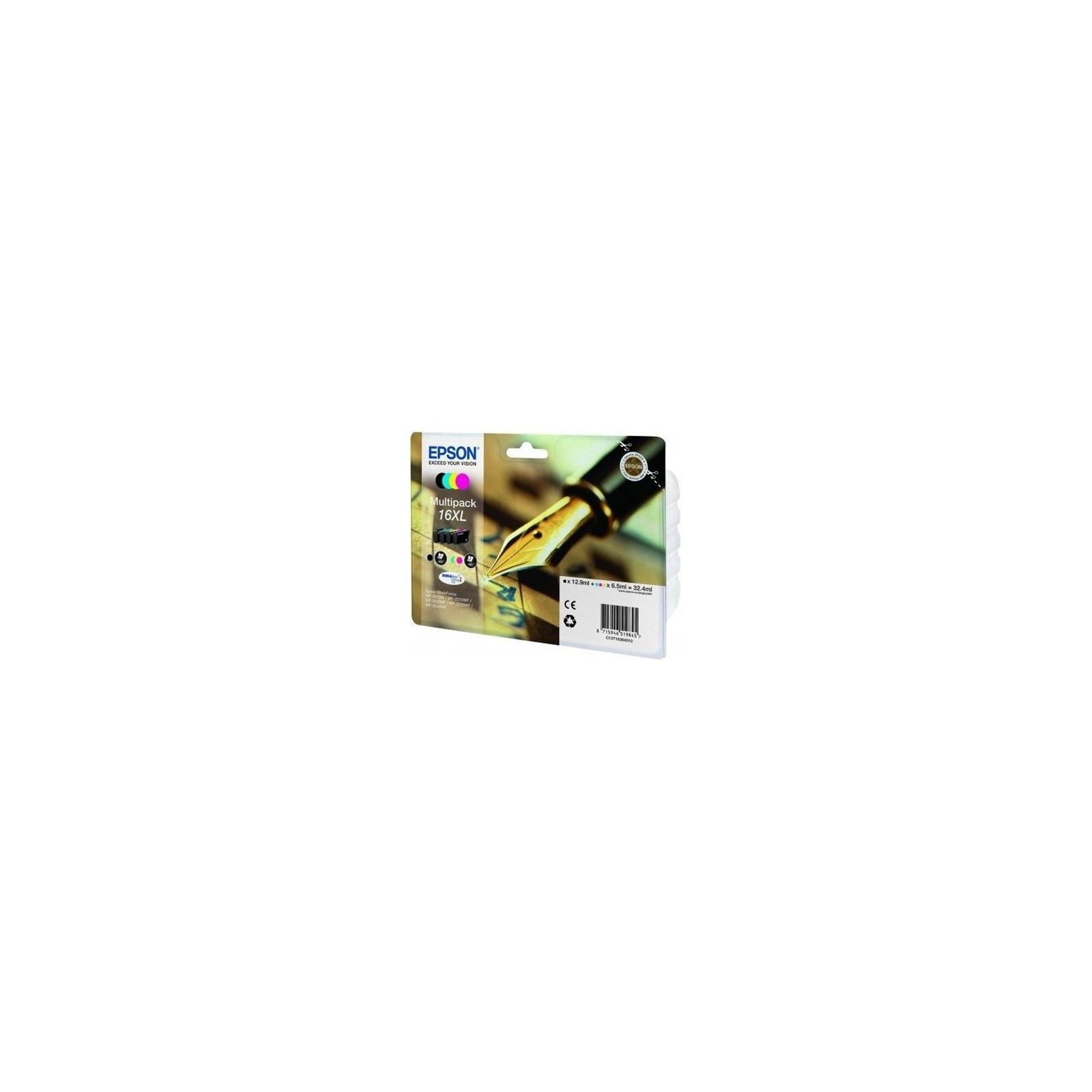Картридж EPSON 16XL WF-2010 Bundle (C,M,Y,Bk) (C13T16364010)
