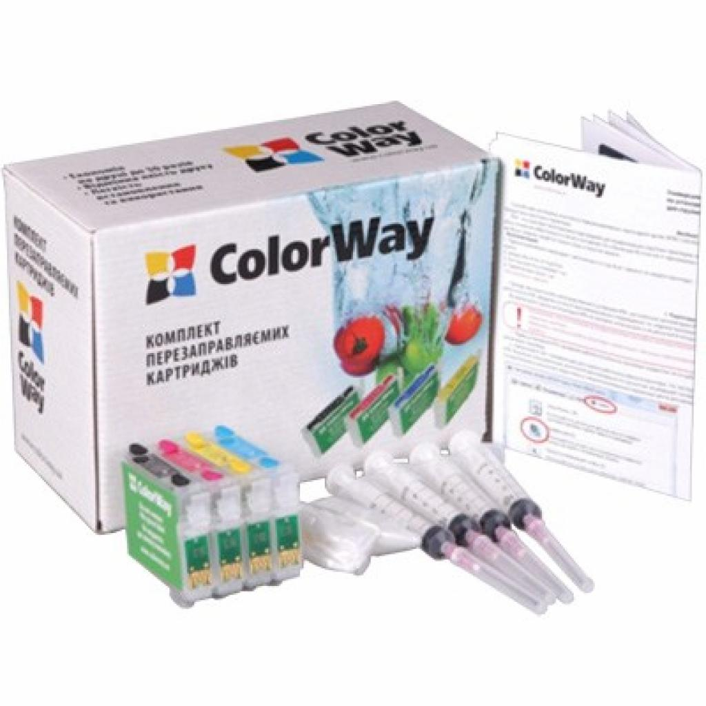 Комплект перезаправляемых картриджей ColorWay Epson SX525/420/425/ BX305/620 (SX525RC-4.1)