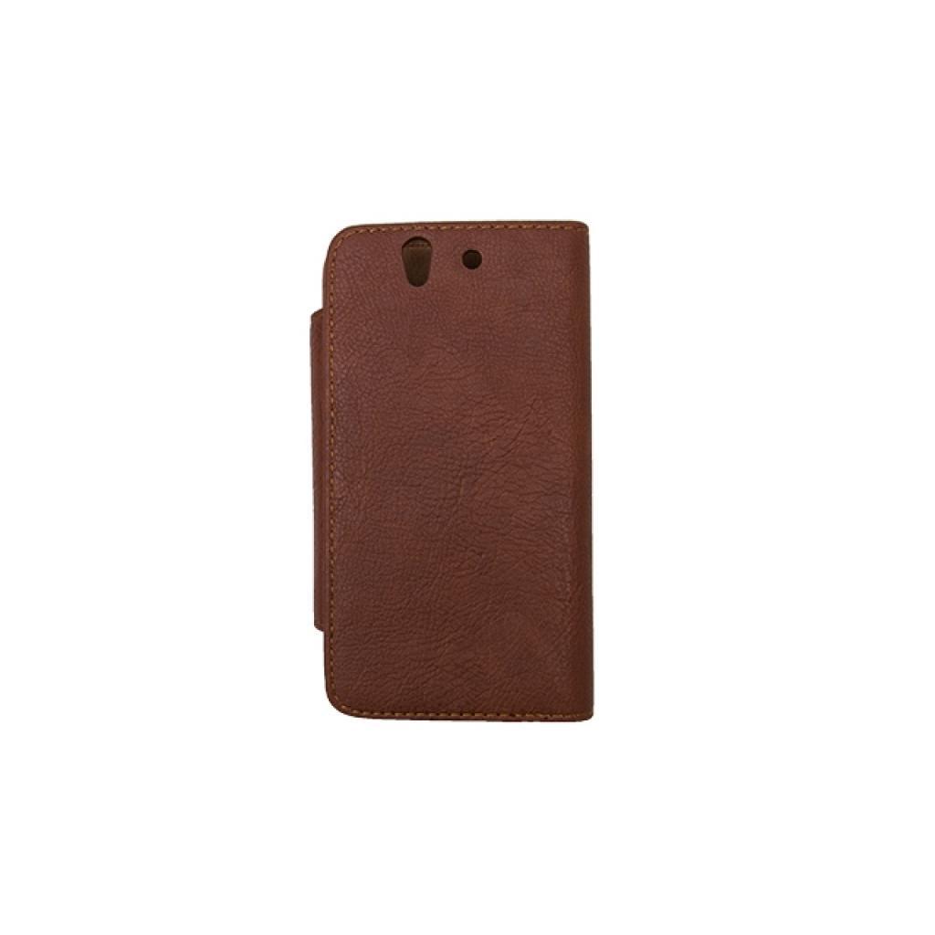 Чехол для моб. телефона Drobak для Sony C6603 Xperia Z /Fresh Style/Brown (212277) изображение 3