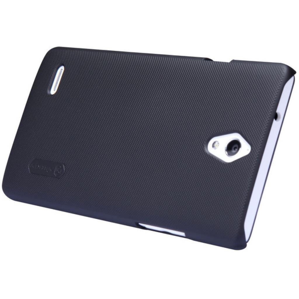 Чехол для моб. телефона NILLKIN для Huawei Ascend G700 -Super Frosted Shield/Black (6076994) изображение 2