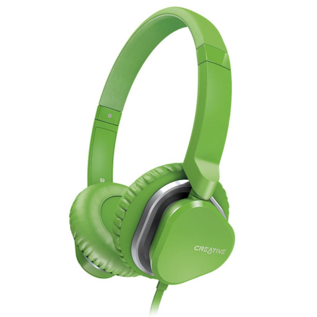 Наушники CREATIVE Hitz MA2400 Green (51EF0640AA007)