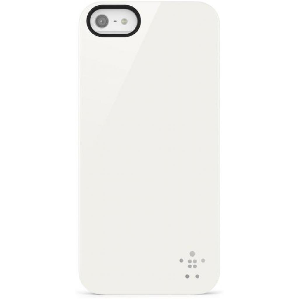 Чехол для моб. телефона Belkin iPhone 5/5s Opaque Shield/White (F8W159vfC01)