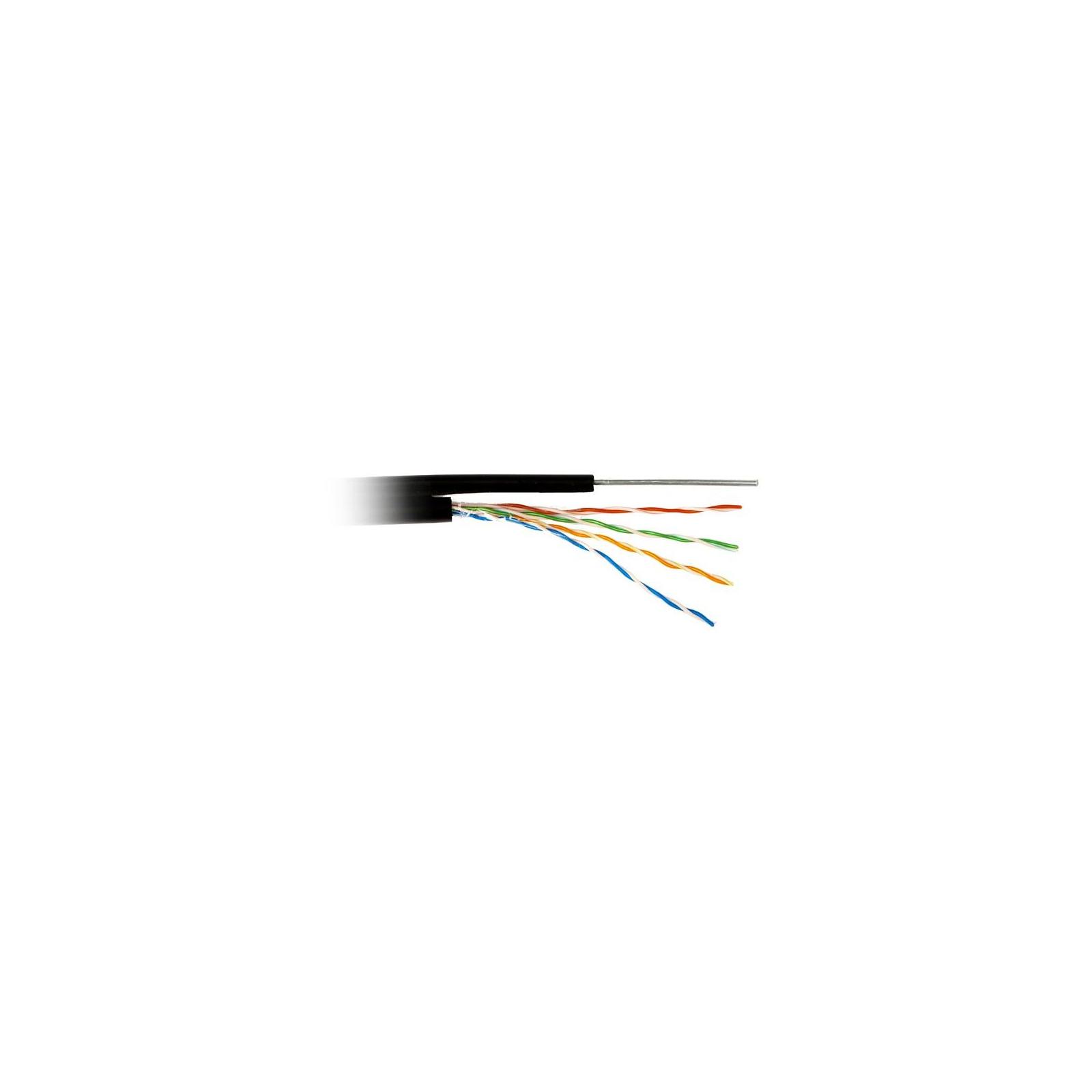 Кабель сетевой FTP 305м cat.5e Standart CCA, для внешней прокладки с тросом Atcom (13760)