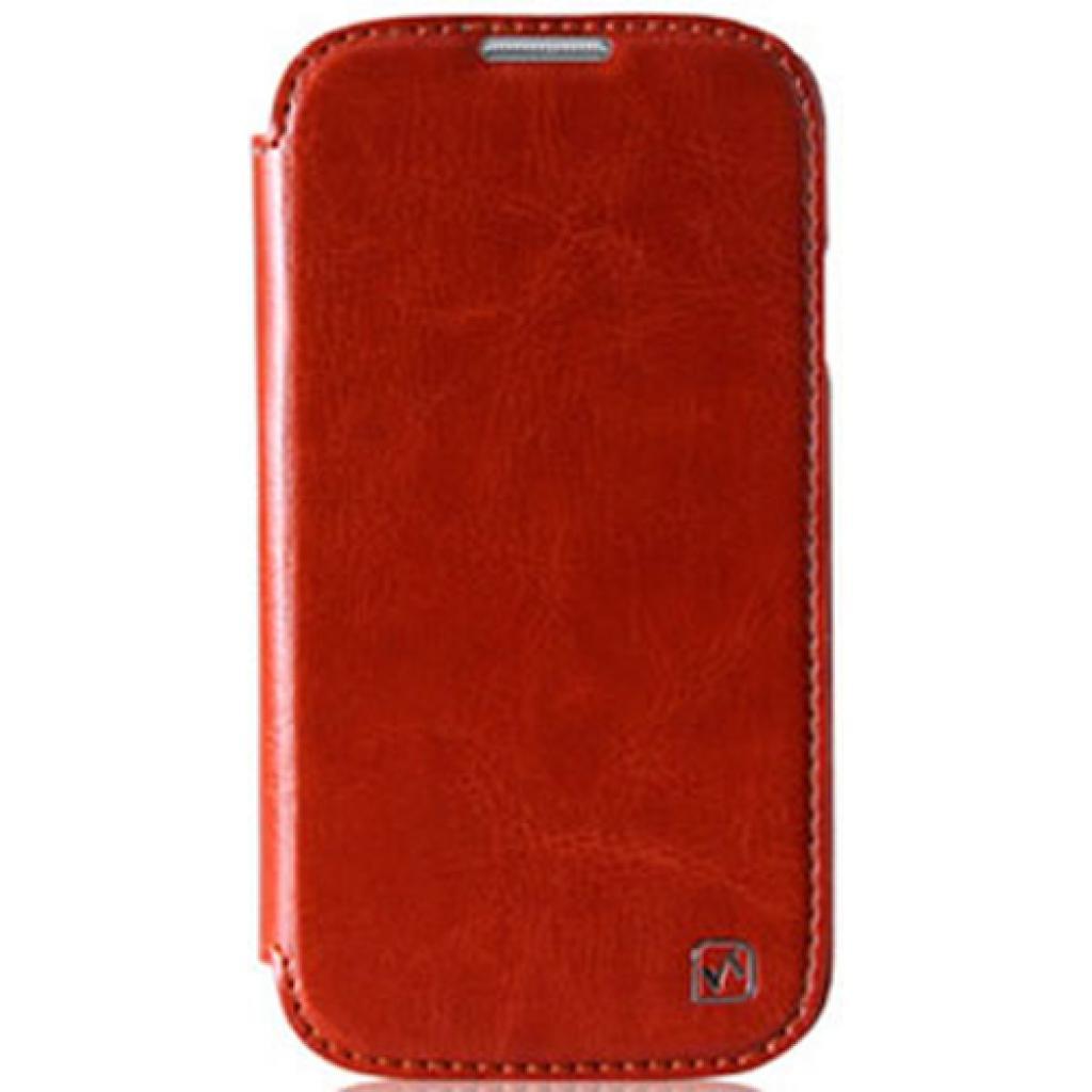 Чехол для моб. телефона HOCO для Samsung I9500 Galaxy S4 /Crystal (HS-L022 Brown)