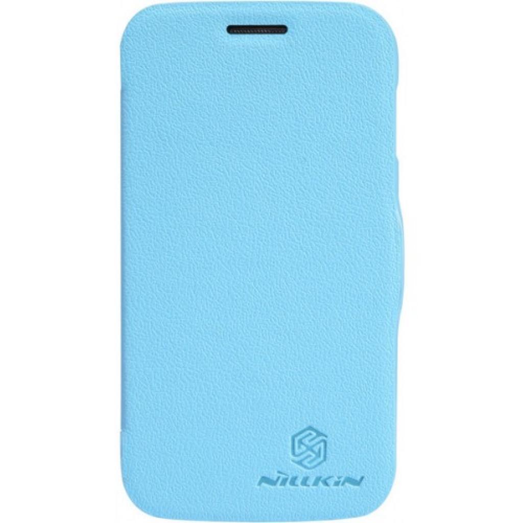 Чехол для моб. телефона NILLKIN для Samsung I9500 /Fresh/ Leather/Blue (6065851)