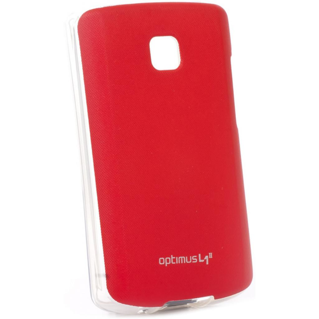 Чехол для моб. телефона VOIA для LG E410 Optimus L1II /Jell skin/Red (6093514)