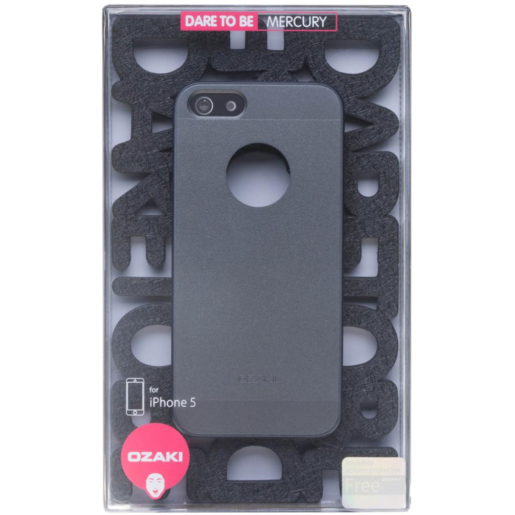 Чехол для моб. телефона OZAKI iPhone 5/5S O!coat Universe Grey (OC536GY) изображение 3