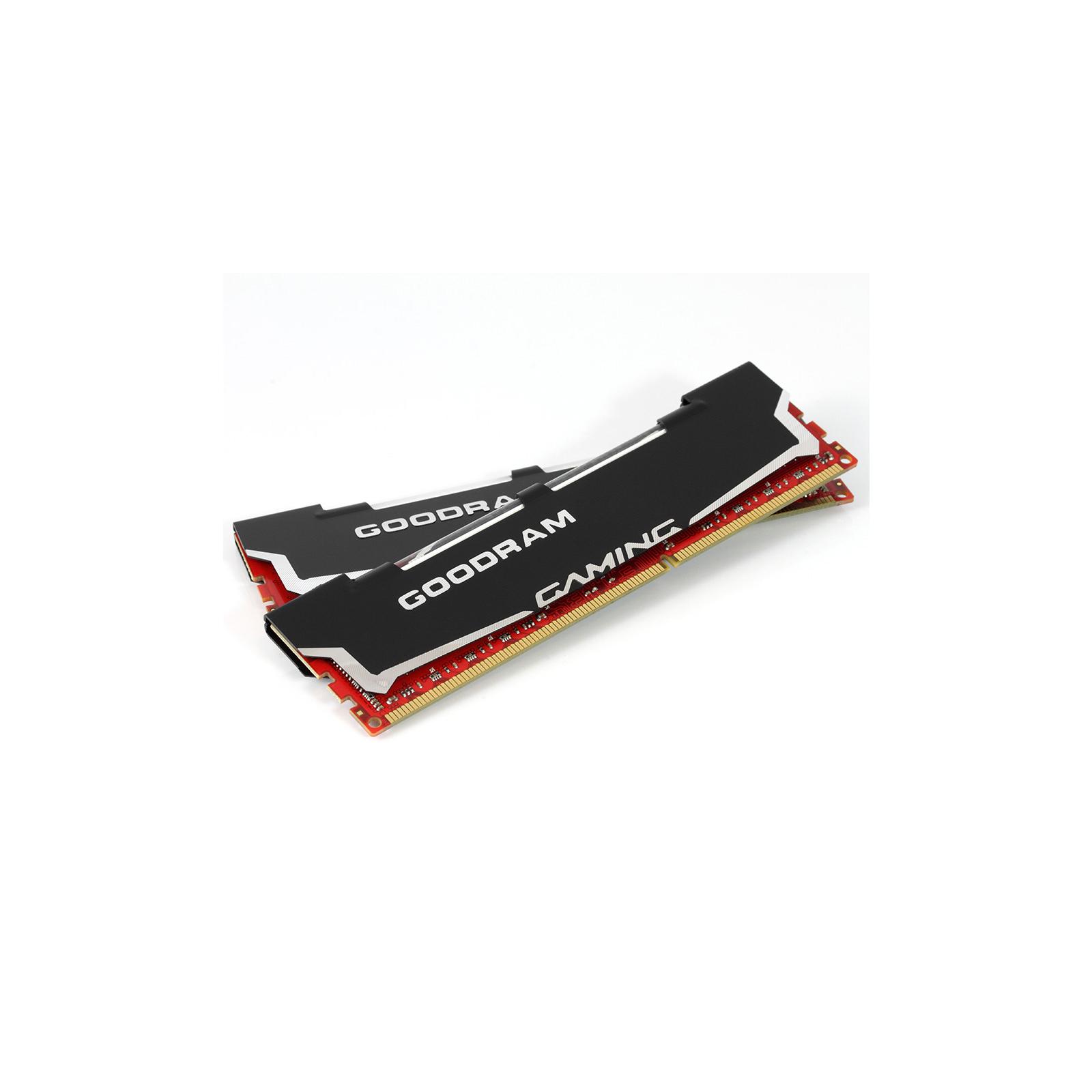 Модуль памяти для компьютера DDR3 8Gb (2x4GB) 2400 MHz Led Gaming GOODRAM (GL2400D364L11/8GDC) изображение 2