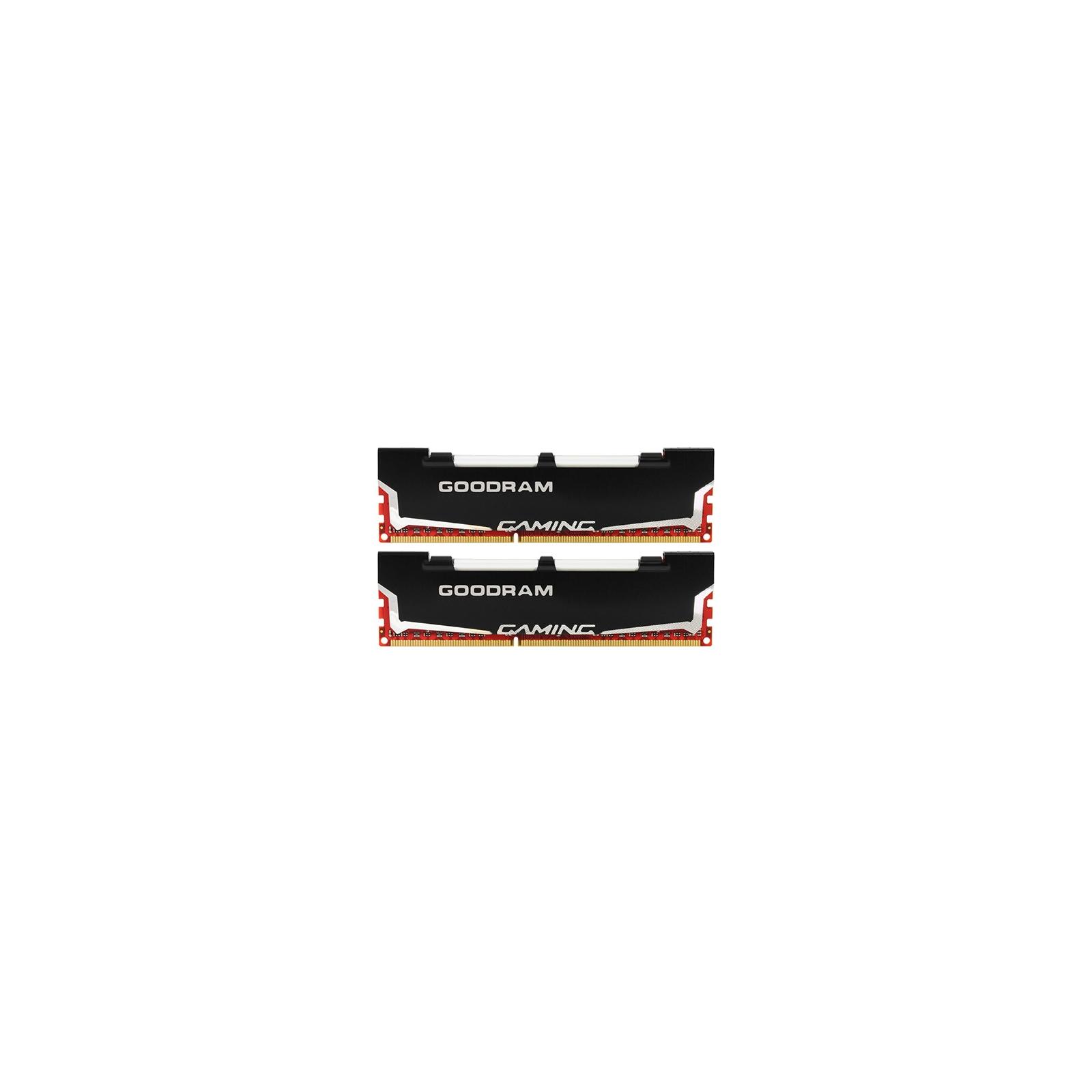 Модуль памяти для компьютера DDR3 8Gb (2x4GB) 2400 MHz Led Gaming GOODRAM (GL2400D364L11/8GDC)